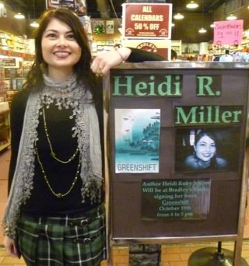 Heidi Ruby Miller at Bradley's Books