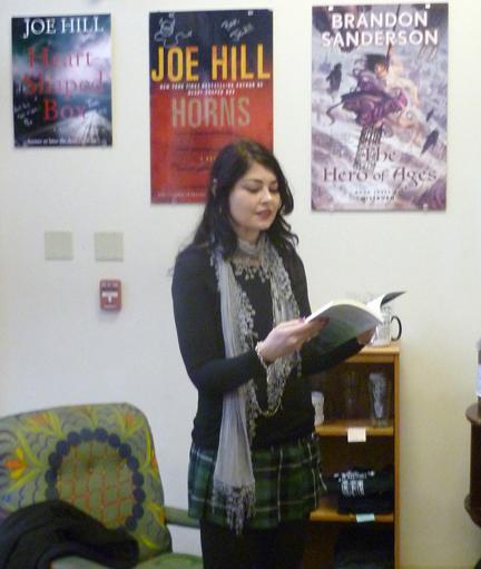 Heidi Ruby Miller reading