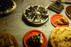 The pie table