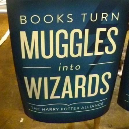 Muggle alert