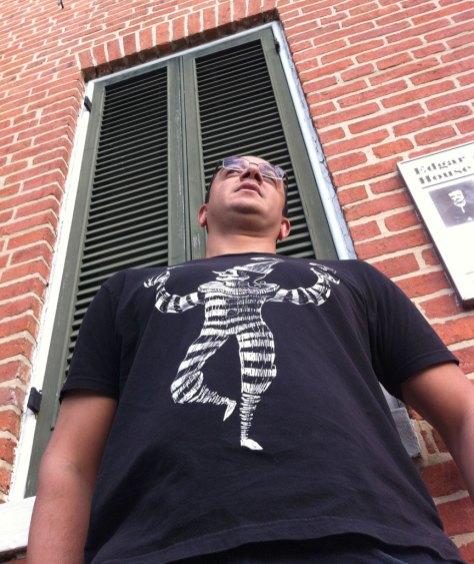 Outside the Poe House