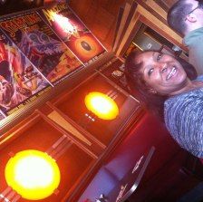 K. Ceres Wright at the Lost City Diner
