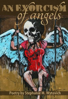 An Exorcism of Angels horror poetry collection cover art