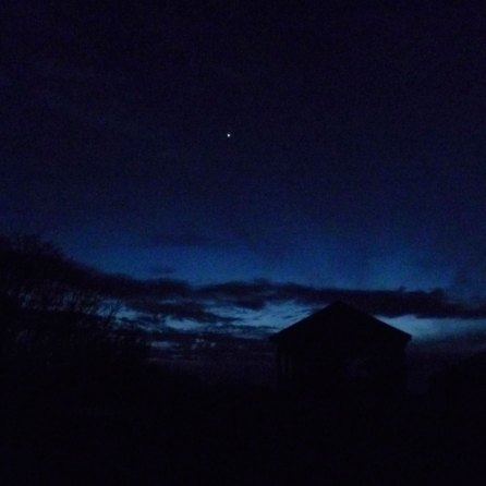 Venus in the sky