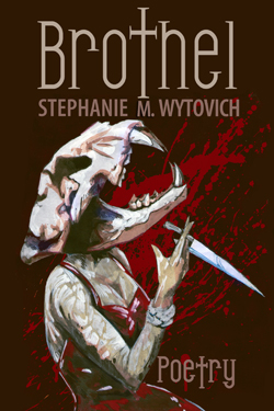 Brothel horror poetry collection cover art