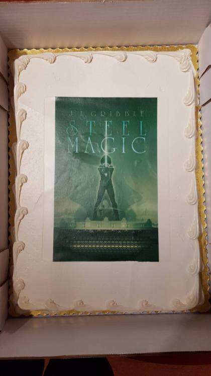 Steel Magic Book Launch