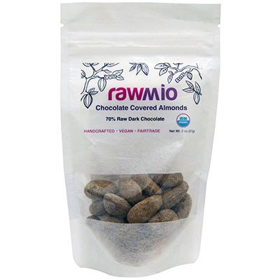 Chocolate Covered Sprouted Almonds Raw Elements