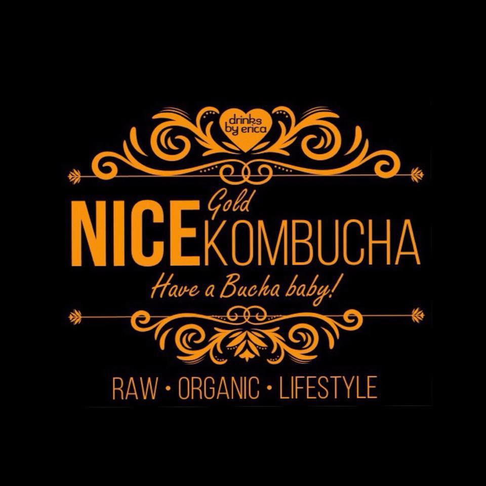 NICE kombucha logo