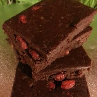 BROWNIE SLICES - RAW, VEGAN, GLUTEN FREE AND TRULY SCRUMPTIOUS