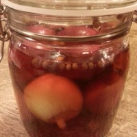 RAW PICKLED ONIONS