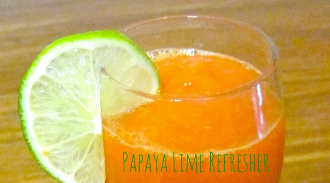 Papaya Lime Refresher
