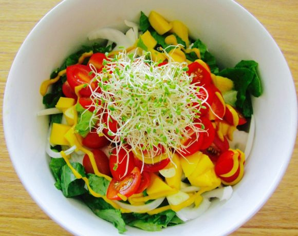 Deli Lunch Salad – Raw & Vegan