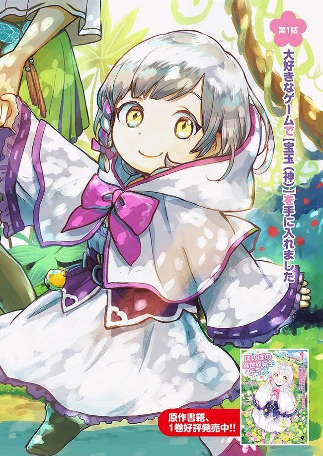 Honobo no Isekai Tensei Days ~ Level Counter, Item Mochi Goshi! Watashi wa Saikyou Youjo desu ~