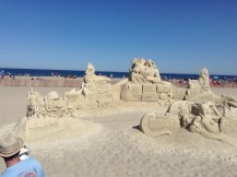 plymouth, coca cola, Preston, Hampton Beach, NH, sand sculptures, sand art, art, castles, beach, fun, adventure, travel, journey, authorblog, blogseries, writer, author, booknerd, nerd, books, fantasy, mustread, storytelling, blue, white, high-five, waves, ocean, sea, story, blogger, book blog, dream,