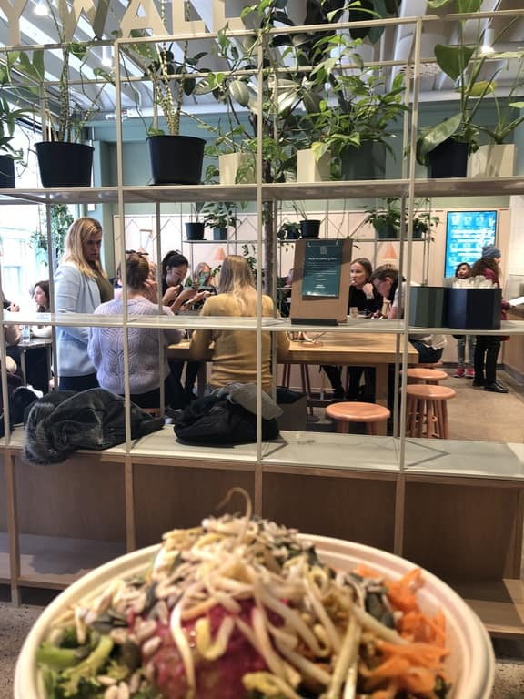 Vegan places to eat Stockholm