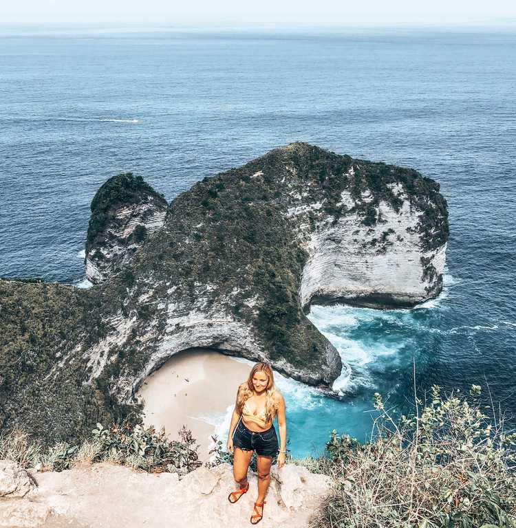 Kelingking Viewpoint, Nusa Penida Kelingking Beach