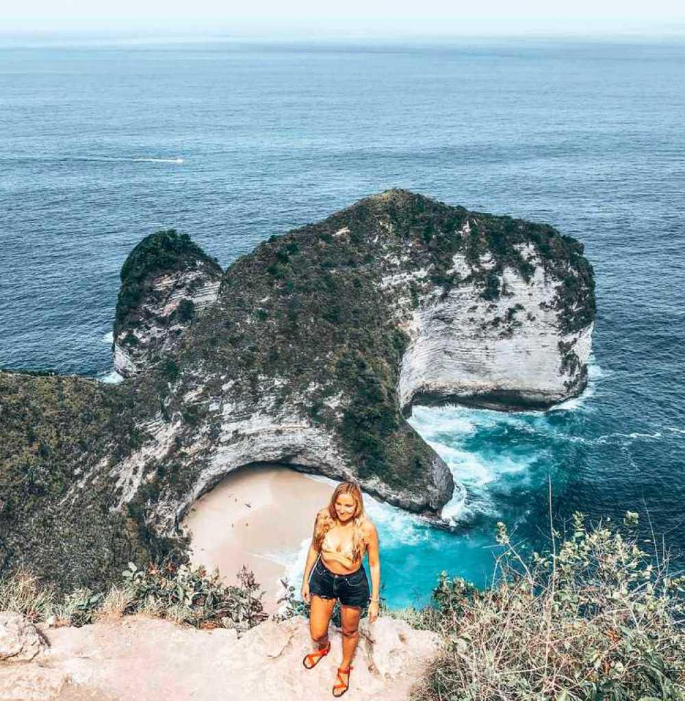 Nusa Penida, Kelingking beach