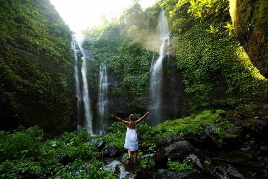 Bunyumala Twin Waterfall, bali