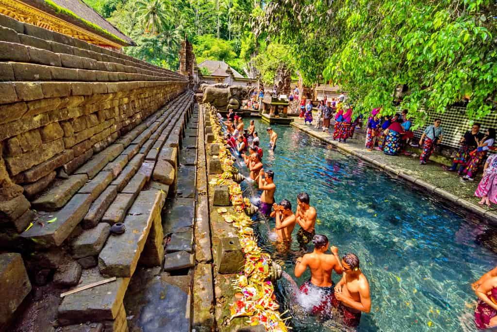 Pura Tirta Empul, Ubud, Bali