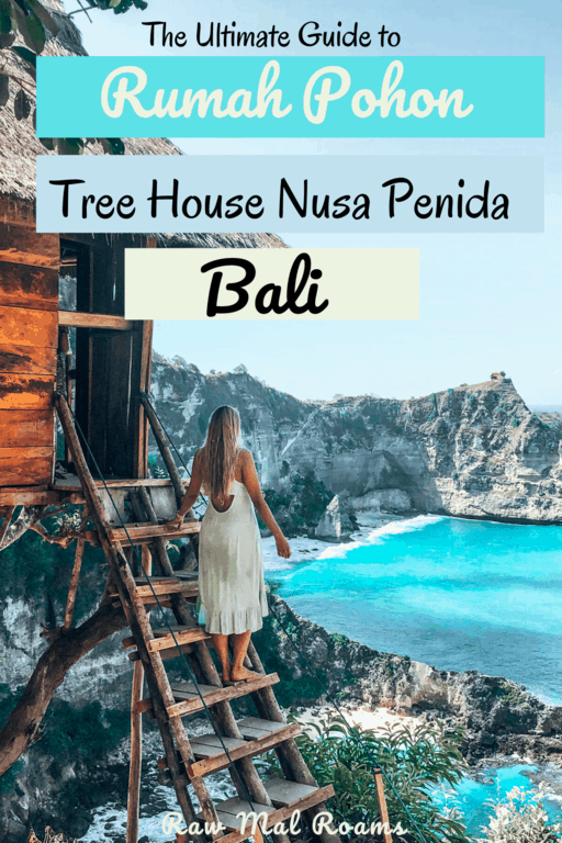Everything you need to know before visiting the most epic place on Nusa Penida - Rumah Pohon Tree House #rumahpohontreehouse #rumahpohontreehousenusapenida #treehousenusapenida #treehousebali