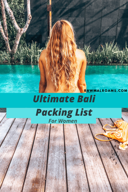Wondering what to pack for Bali? This ultimate guide will help you prep for your exciting trip. Check it out! #balipackinglistwoman #whattopackforbali #balitravel #indonesia
