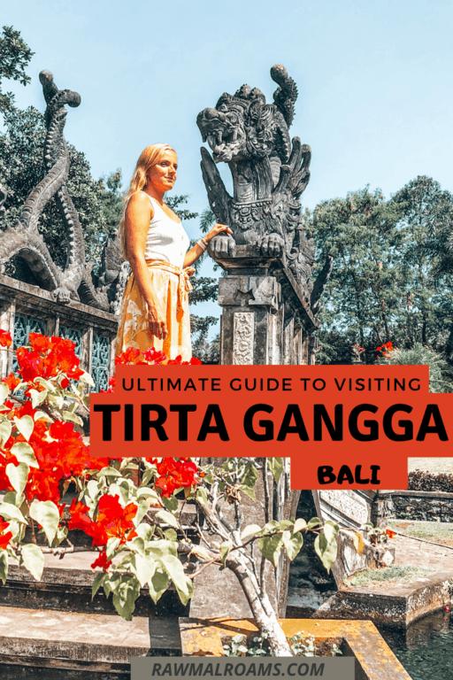 Everything you need to know about Tirta Gangga Water Palace, tips on visiting & interesting facts. #tirtaganggabali #waterpalacebali #balitravel #tirtaganggawaterpalace