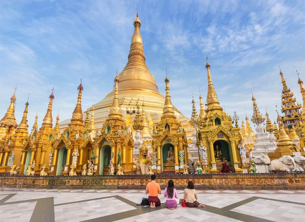 Shwedagon Pagoda, burma, Myanmar, Yangon