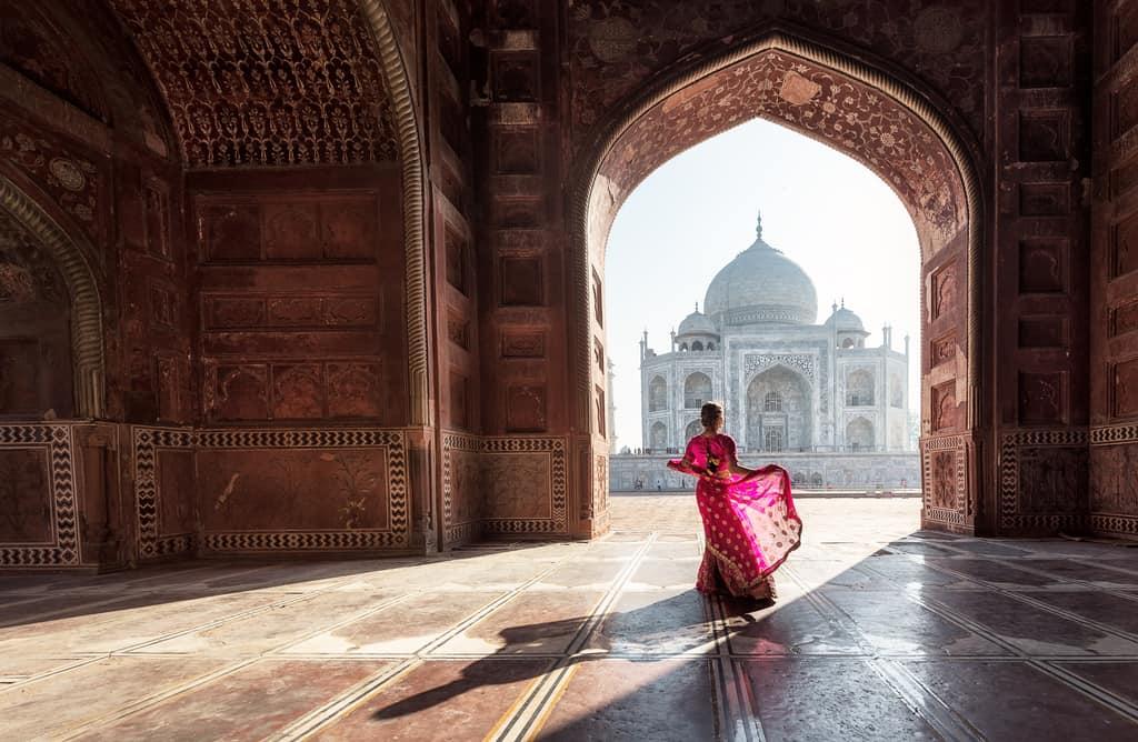 taj mahal india, most beautiful places in the india