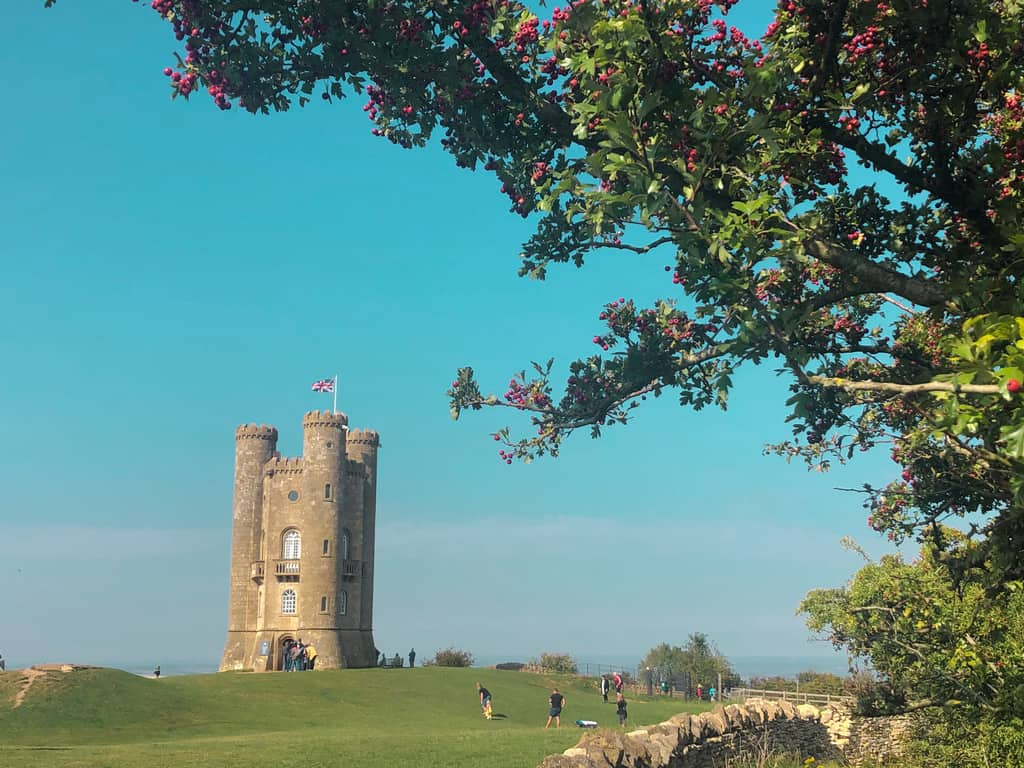 Broadway Tower, most beautiful villages in cotswolds
