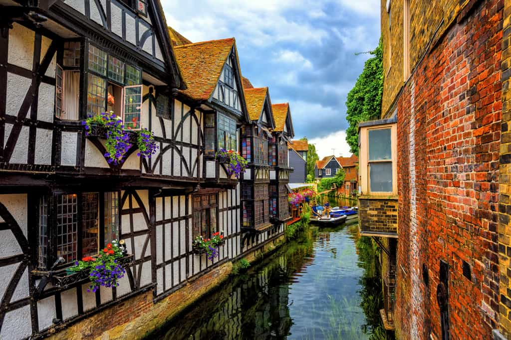 Timber Houses in Cantenbury Old Town