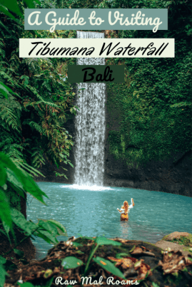 A Guide to visiting Tibumana Waterfall, check out this Bali's hidden waterfall!   #airterjun #tibumanawaterfall #baliwaterfalls #ubudwaterfalls