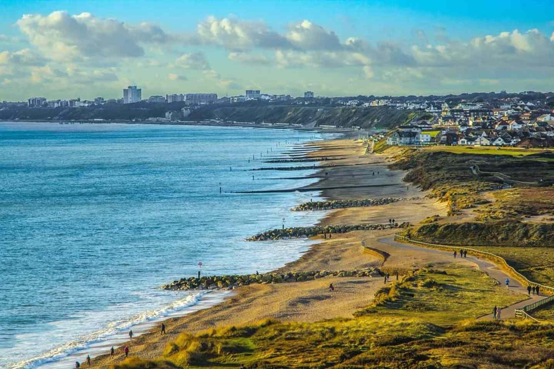 Southbourne Beach, beaches near Southampton