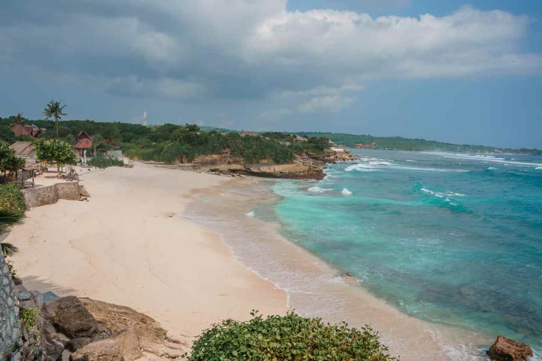 where to stay in nusa lembongan, dream beach