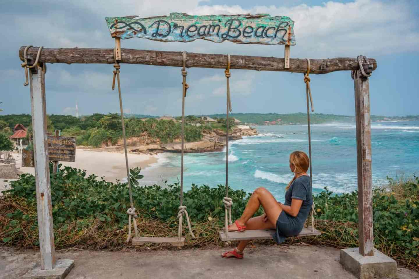 Dream Beach Swing, Nusa Lembongan