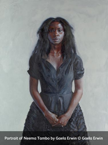 Portrait of Neema Tambo by Gaela Erwin