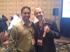 With Richard Garriott (personal hero, astronaut, and Lord British) at SXSW2012