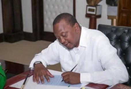 Uhuru's Anti-corruption plan