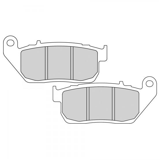 HARLEY DAVIDSON XL 883 SPORTSTER R 2012 Ferodo Platinum Front Disc Brake Pads