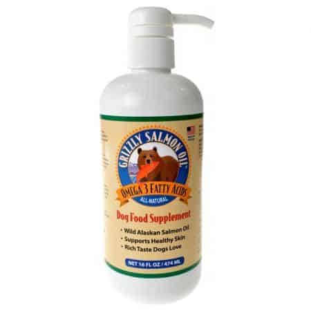 Grizzly Wild Alaskan Salmon Oil for Dogs