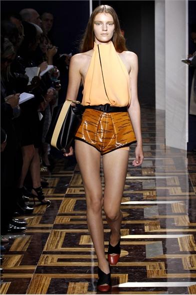 Balenciaga Spring 2012 Paris Fashion Show