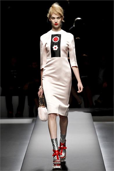 Prada Spring 2013 Milan Fashion Week Show