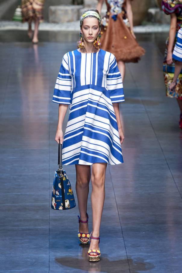 Dolce and Gabbana Spring 2013 Milan Fashion Week Show