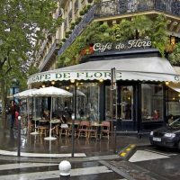 inspiration: cafe de flore - paris, france