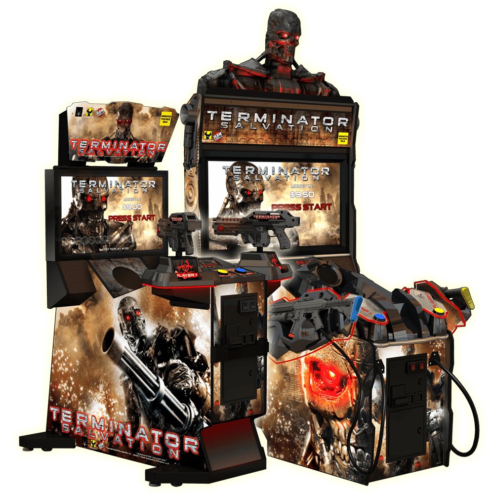 Used Terminator Salvation Arcade Game Software Free