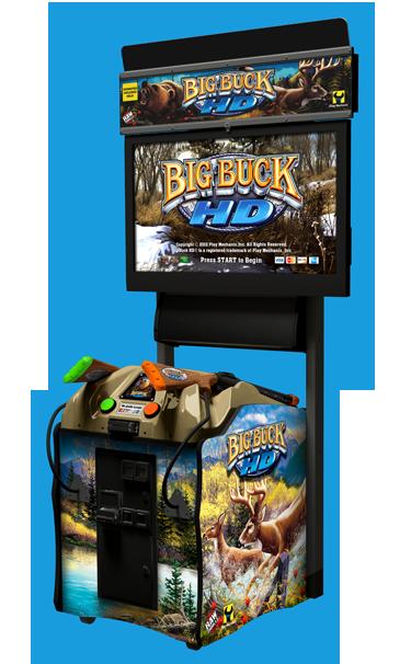 Big Buck HD Raw Thrills Inc