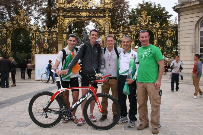 World Duathlon Championships France 2012 - irish team