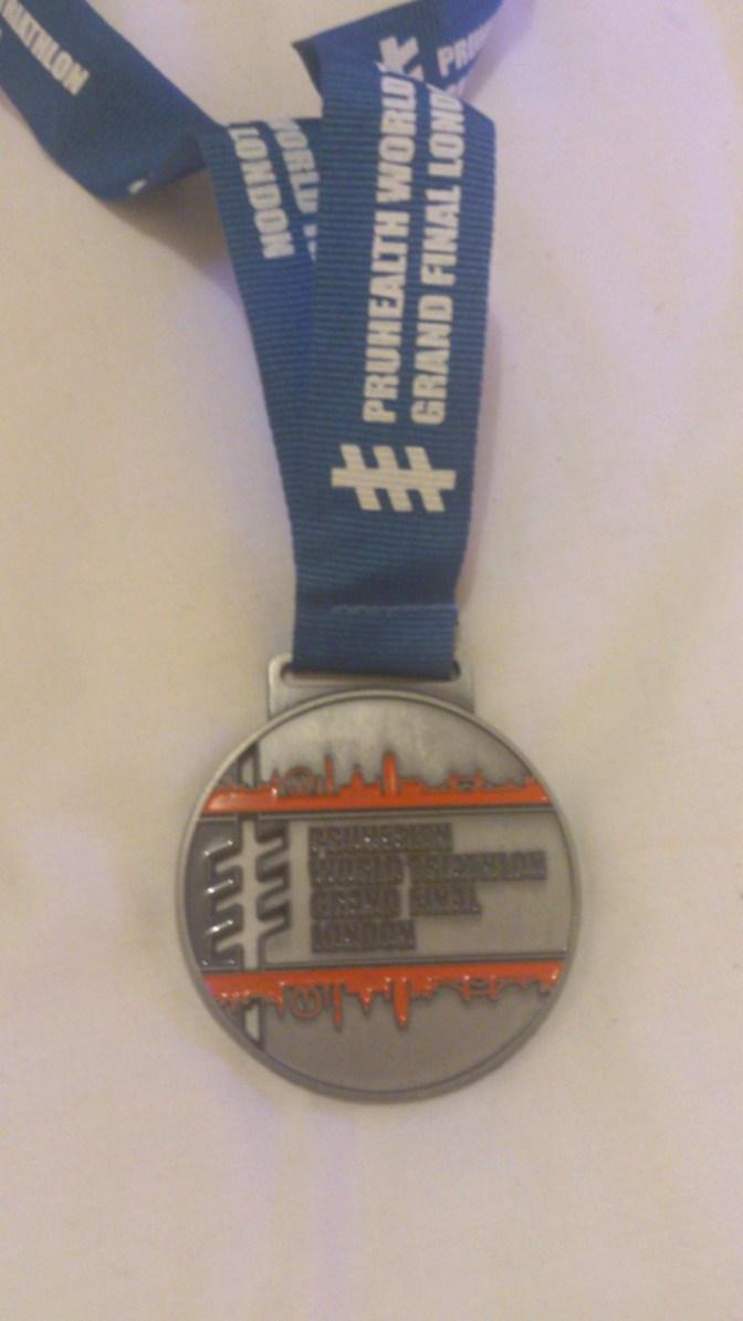 World Triathlon Championship Medal 2013 10k Ray