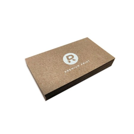 Brown Kraft Recycled Business Cards