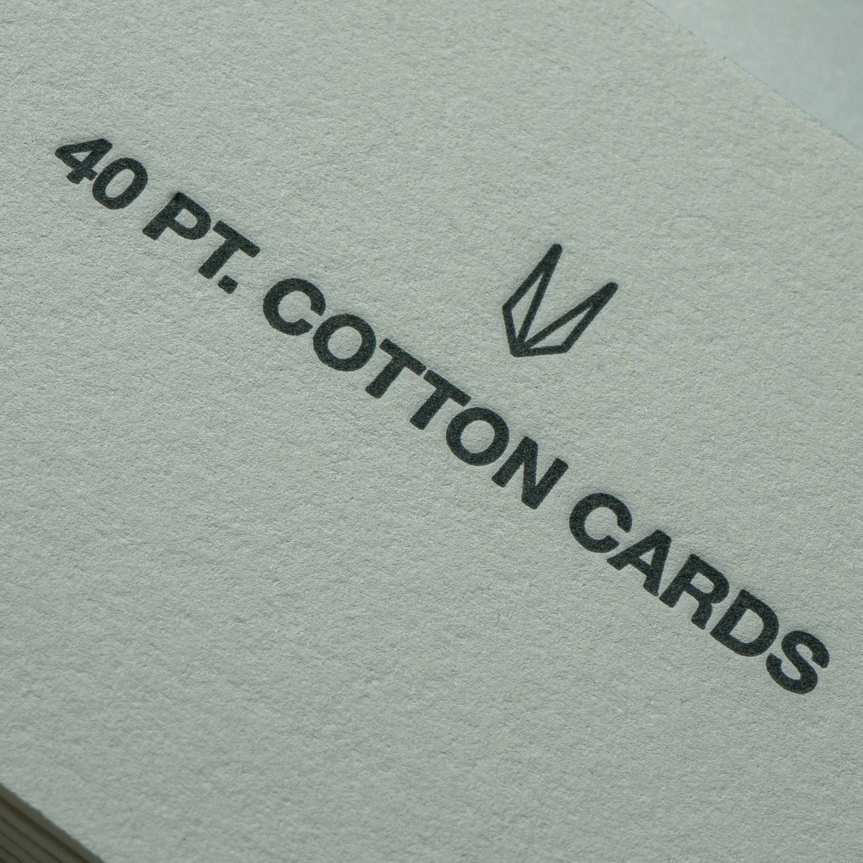 cottonpress business cards