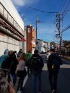 Walk to Naritasan Park